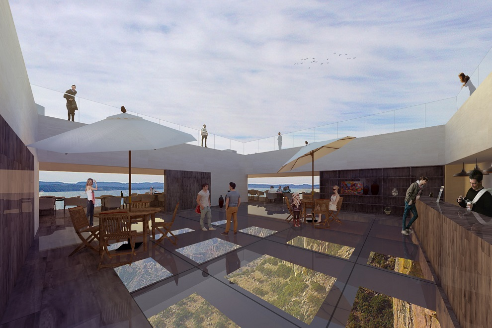 Luxury Cantilevered Restaurant Overhangs Mexico Copper Canyon (2)