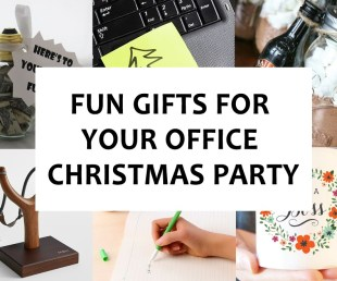 Fun Gifts for Your Office Christmas Party