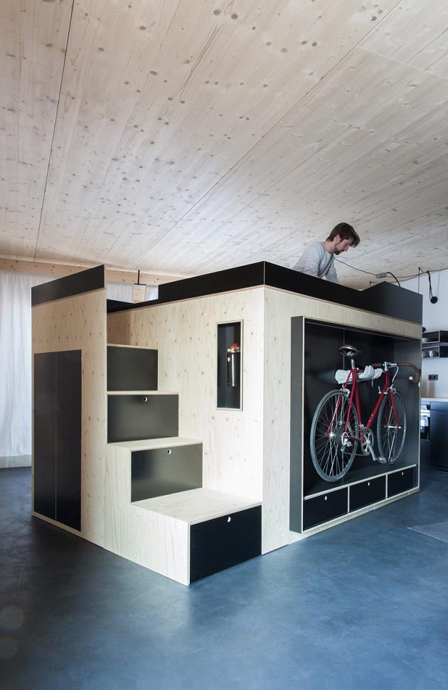Moormann's Kammerspiel - The Space-Saving Living Cube (3)