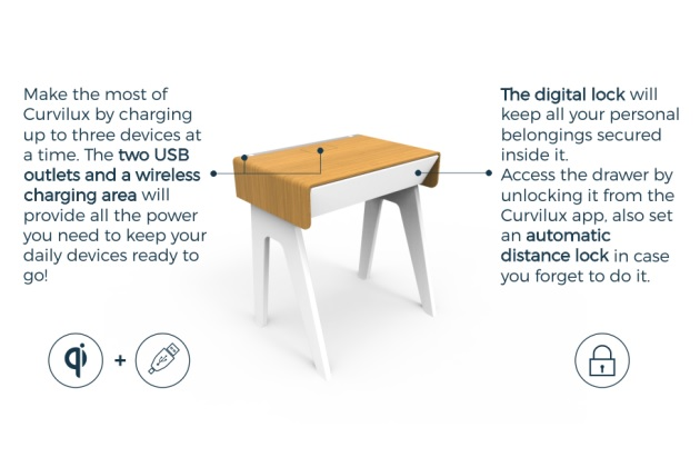 Secure Your Belongings with Curvilux Smart Nightstand (6)