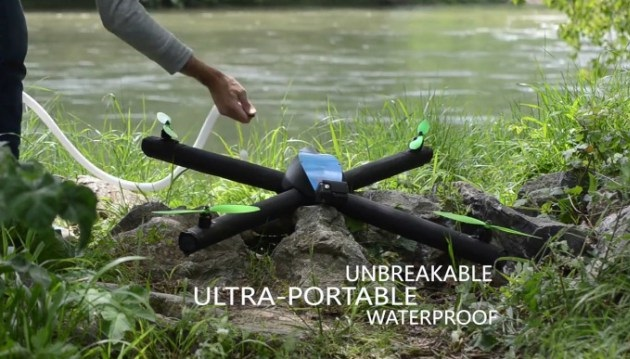 This Inflatable Drone Won't Worry About Water Landings (1)