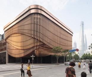 The Graceful Moving Veil of Bund Finance Center, Shanghai (3)
