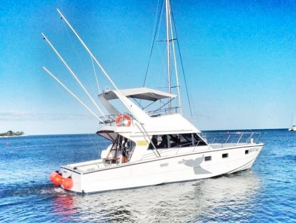Mauritius Fishing Boat