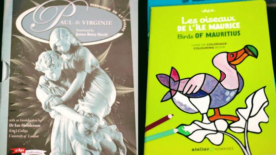 mauritian books souvenirs