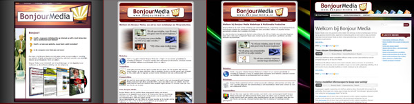 Bonjour Media Websites