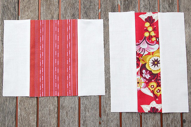 Easy baby quilt made with Anna Maria Horner's Innocent Crush - by Bonjour Quilts
