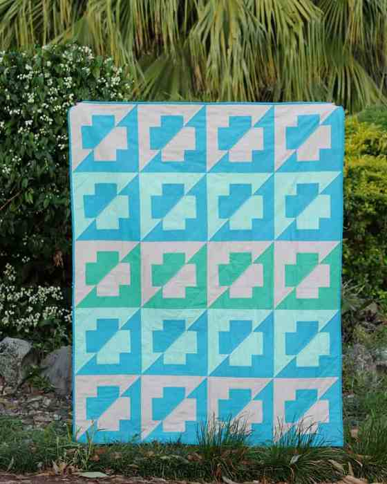 The Plus Side Quilt Pattern - by Bonjour Quilts