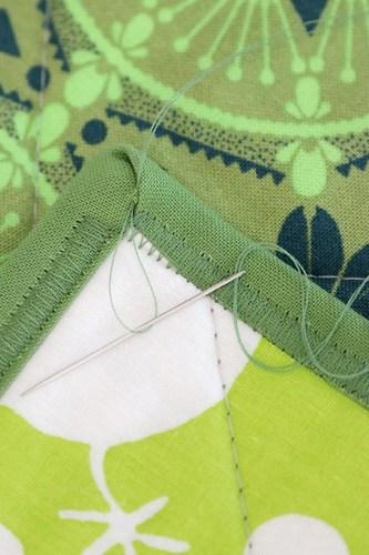 Zigzag quilt binding tutorial - Bonjour Quilts
