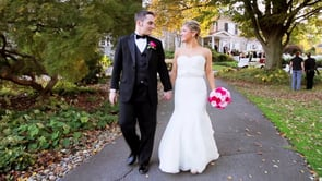 Laura and Greg's wedding video preview
