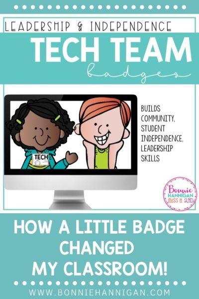 Tech Team Badges Resource #techteam #printable #secondgrade #classroom