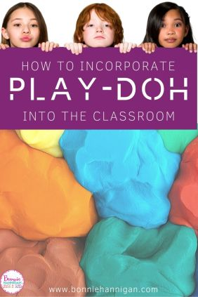 How to creatively Incorporate Play-doh into the classroom