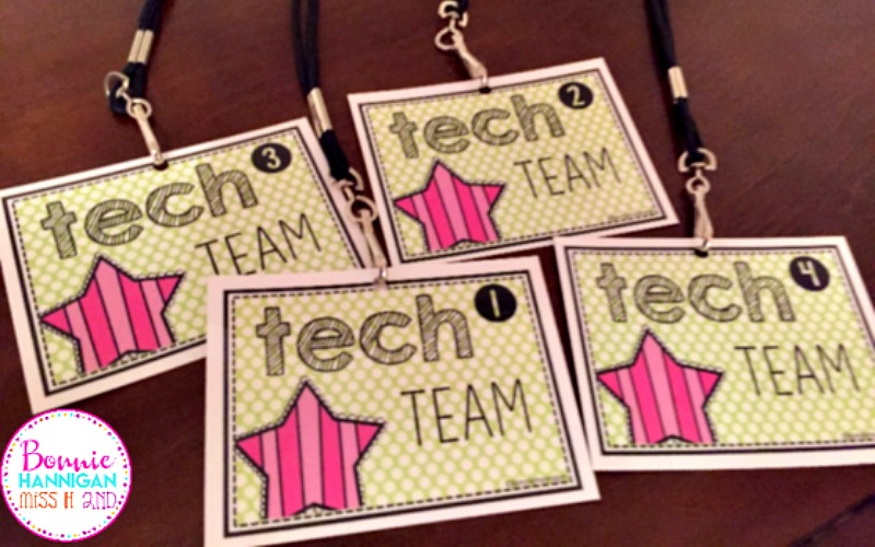 Tech Team Badges