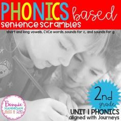 Unit 1 Sentence Scrambles