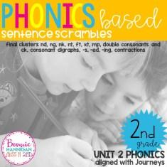 Unit 2 Sentence Scrambles
