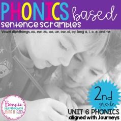 Unit 6 Sentence Scrambles