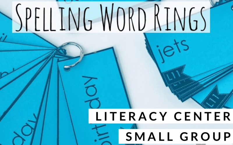Spelling Word Rings Resource