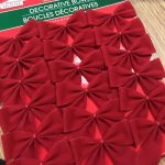 red bows for wreath
