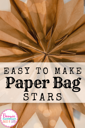 Paper Bag Stars Pin It Image