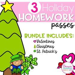 Homework Passes Bundle