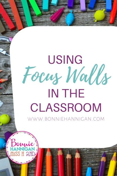 Focus Walls in the Classroom