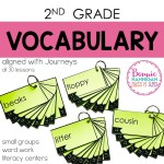 Year Long Vocabulary Word Rings
