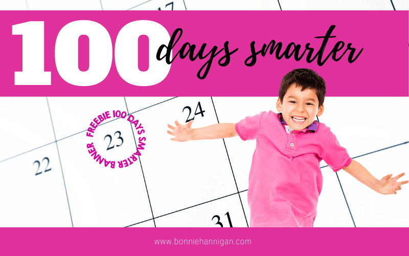 100 Days Smarter Freebie Post