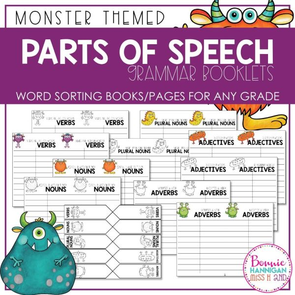 Grammar and Parts of Speech Booklet