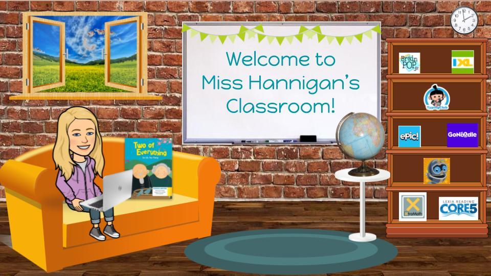 Miss Hannigan's Virtual Classroom
