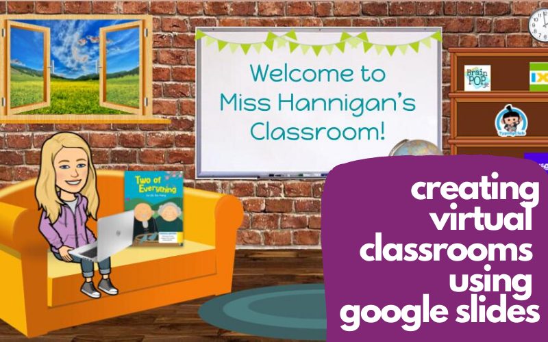 Virtual Classroom using Google Slides