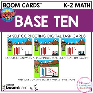 Boom Cards Base Ten Cover