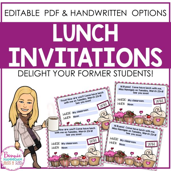 Lunch Invitations for Students