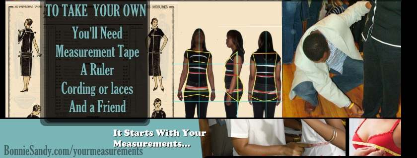 Great Fit Start with Correct Measurements!