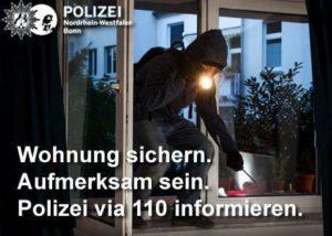 Bonn-Südstadt: Bargeld und Mobiltelefon aus Mehrparteienhaus entwendet - Polizei bittet um Hinweise