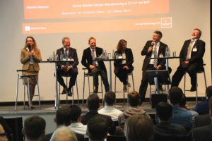 Podiumsdiskussion am 27.4.2017 in Hannover