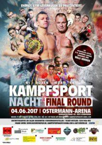 Kampfsportnacht FINAL ROUND am Sonntag, 4. Juni 2017