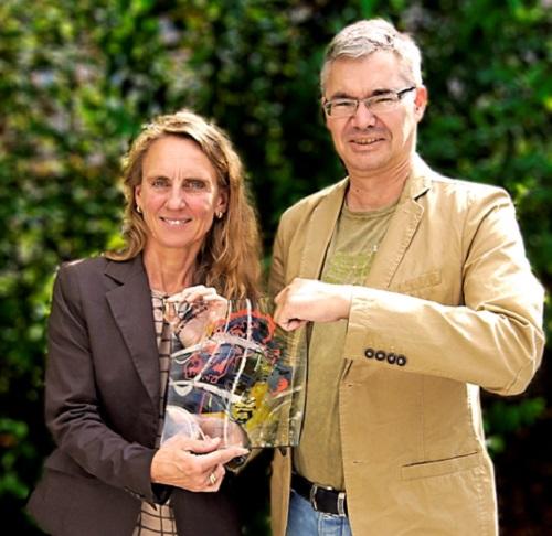 Dr. Christine Lötters (SC Lötters) und Michael Pieck (IHK Bonn/Rhein-Sieg)