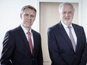 Dr. Dirk Wölwer und Dr. Wolfgang Gawlitta