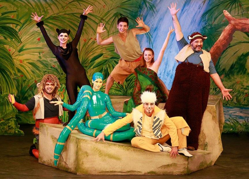 """""""Dschungelbuch – das Musical"""" am Samstag, den 24. Februar als Live-Erlebnis in Bonn zu sehen"""