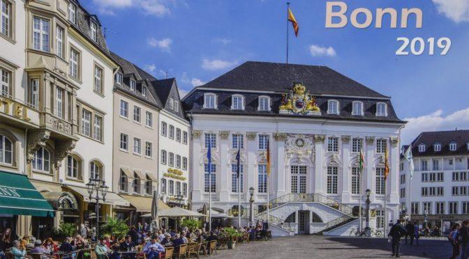 Bonn 2019 Bildkalender A3 quer, spiralgebunden Kalender – Wandkalender