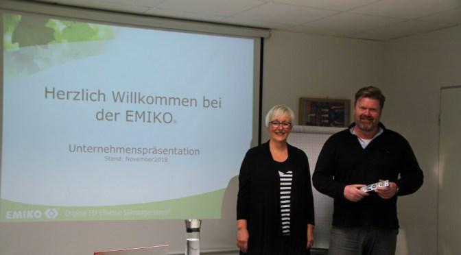 Elke Graff und Christoph Timmerarens begrüßen die Gäste (@EMIKO Gruppe)