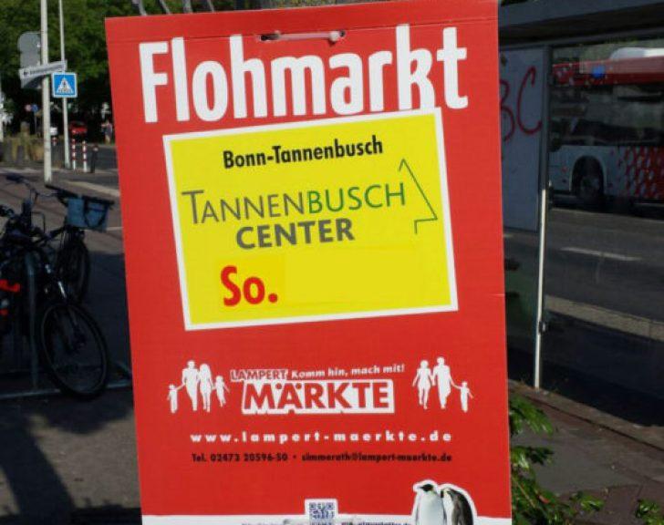 Flohmarkt am Tannenbusch Center Bonn
