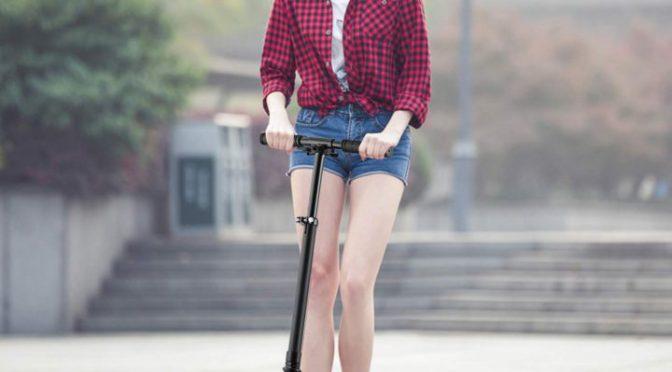 WeSkate City Roller Scooter Klappbar & Höhenverstellbar Roller für Erwachsene | Big Wheel Scooter Cityroller mit Doppelfederung und Tragegurt,...