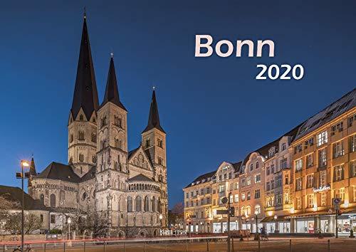 Bonn 2020 Bildkalender A3 quer, spiralgebunden Kalender – Wandkalender,