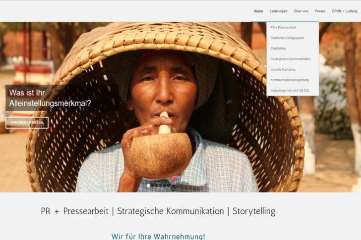 Die überarbeitete Startseite der SC Lötters Homepage