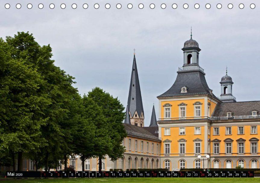 Bonn - Stadt mit Herz (Tischkalender 2020 DIN A5 quer)