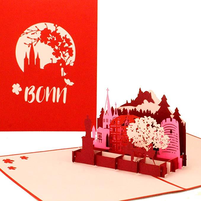 "3D Karte ""Bonn – City Panorama"""