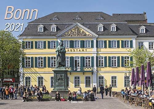 Bonn 2021 Bildkalender A4 quer, spiralgebunden Kalender