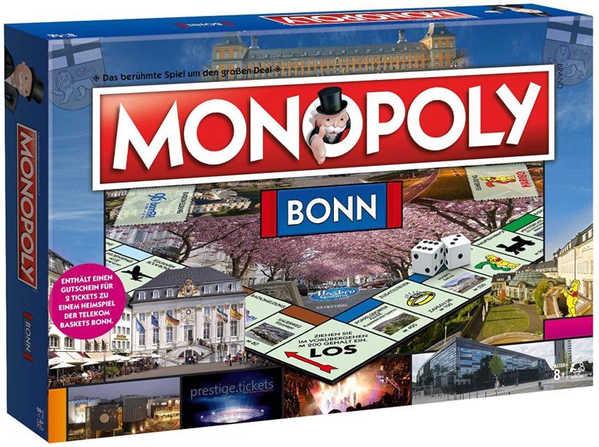 Monopoly Bonn Edition – Das berühmte Spiel um den großen Deal! Die Neuauflage der Stadt Bonn Edition