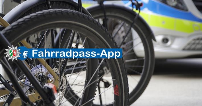 Fahrraddiebstahl – Alle Daten Ihres Fahrrades in der Fahrradpass-App der Polizei