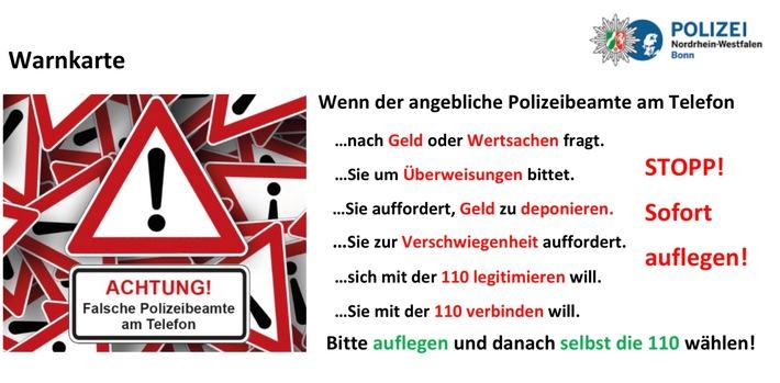 """Erneut schlagen """"Falsche Polizisten"""" zu 82-Jähriger in Bonn-Beuel betrogen"""